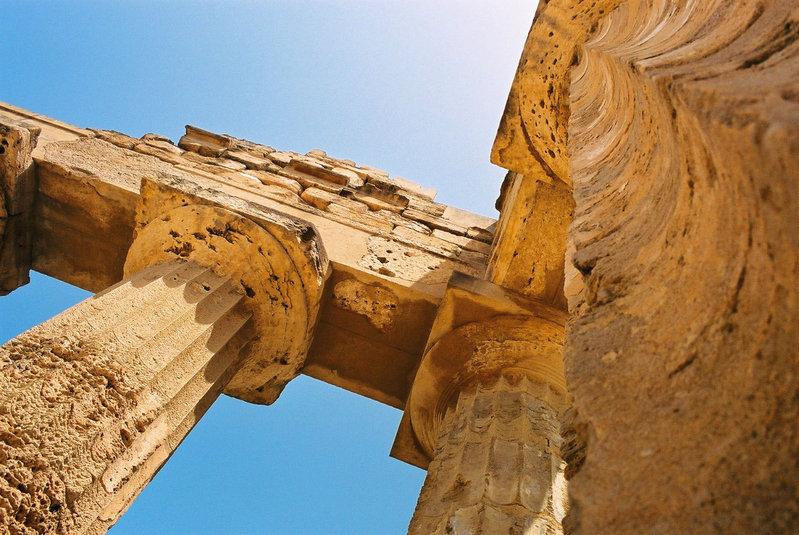 Tempio greco di Selinunte