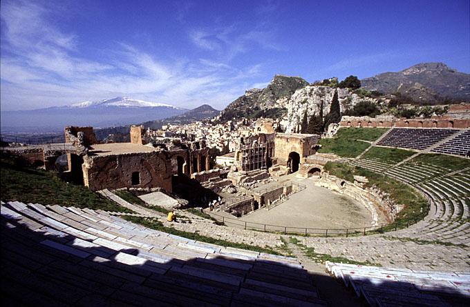 Teatro greco di Taormina