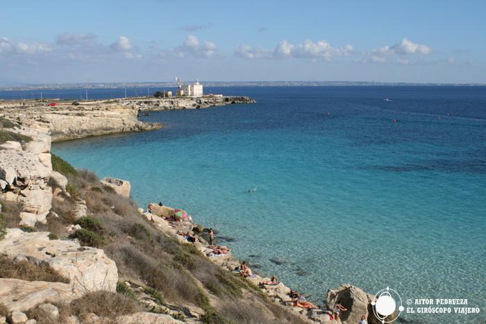 Cala Azzurra a Favignana - Isole Egadi